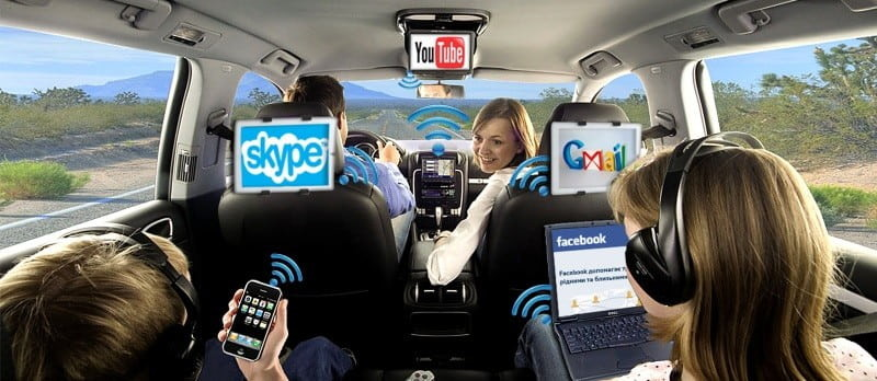 Прокат авто с Wi-Fi - будьте всегда на связи!