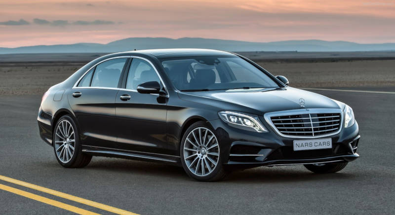 Rent Mercedes S500 photo 1