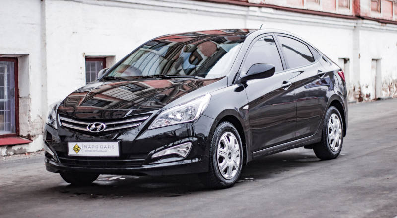 Rent Hyundai Accent  photo 1