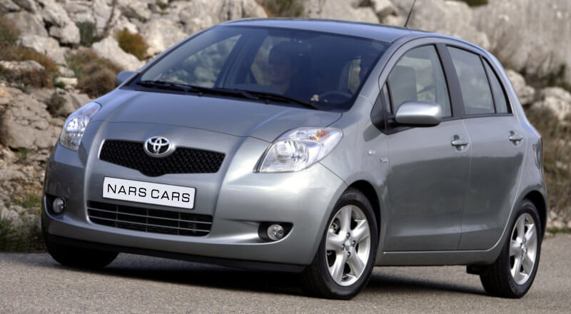 Rent Toyota Yaris photo 1