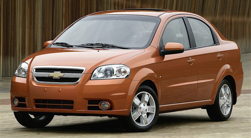 Rent Chevrolet Aveo photo 1